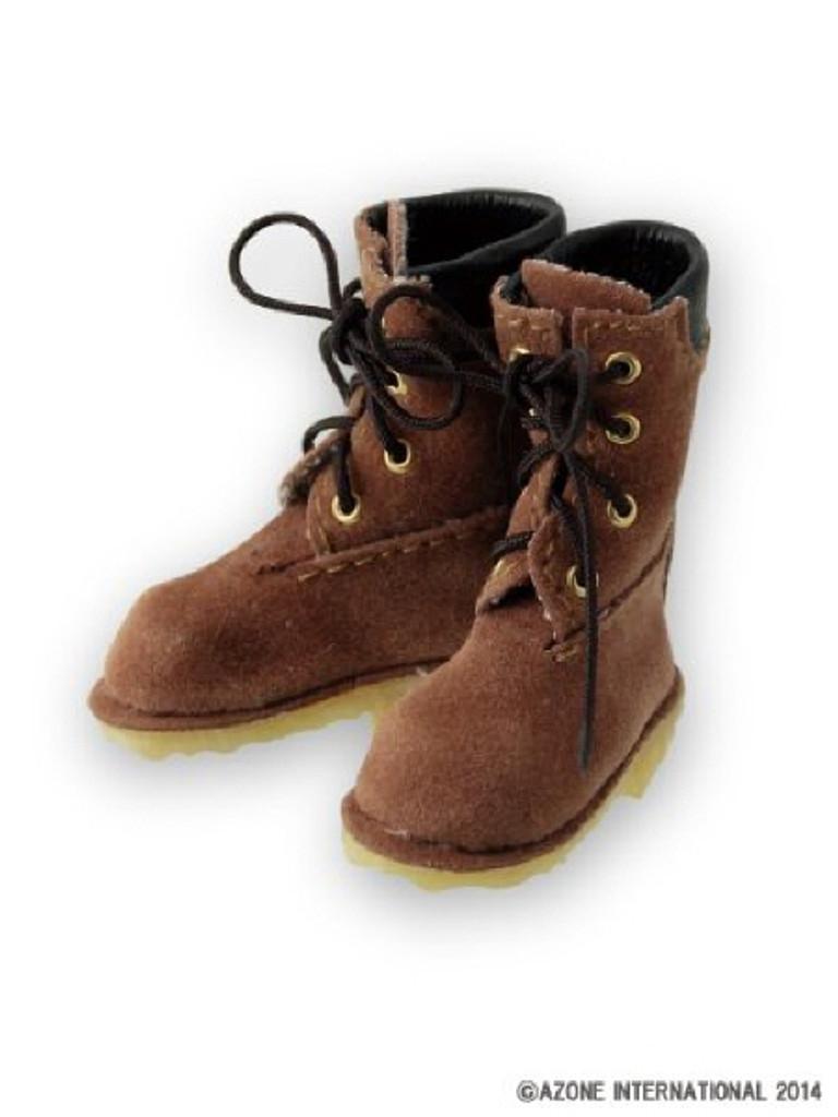 Azone AKT092-BEG Hoko Suede Boots Beige