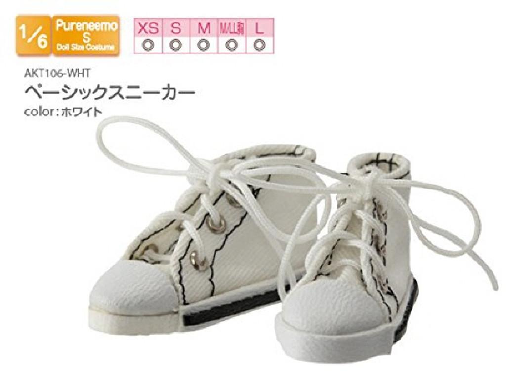 Azone AKT106-WHT Basic Sneaker White