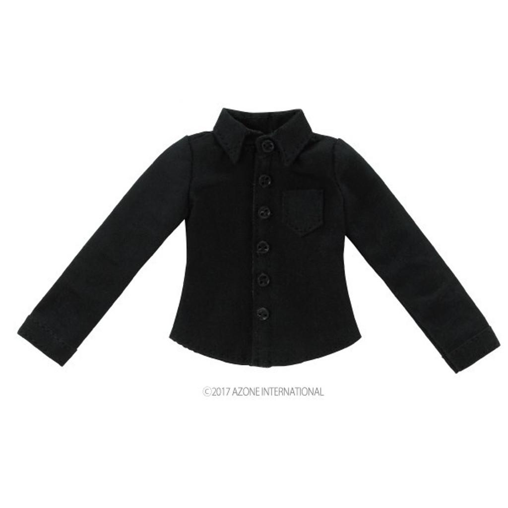 Azone ALB186-BLK PNXS Long Sleeve Y Shirt Black