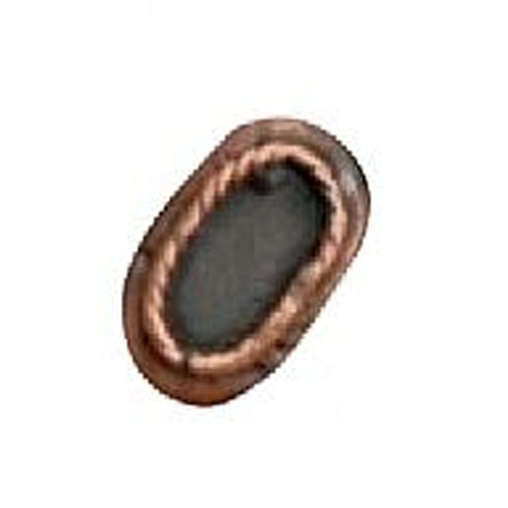 Azone AMP043-SBZ Oval Belt Buckle Anodic Copper
