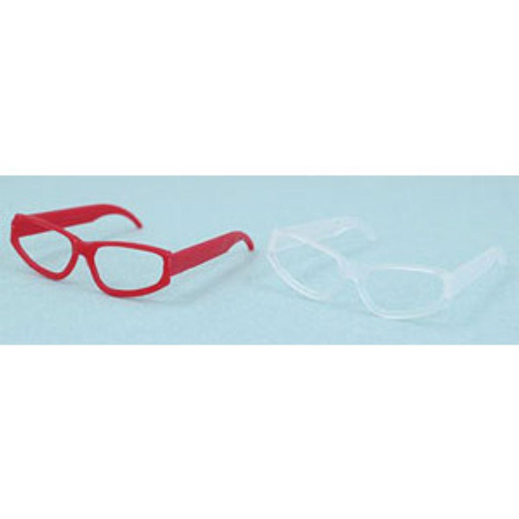 Azone AMP086-RCL Glasses set II Red/Clear