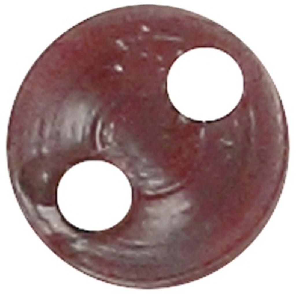 Azone AMP117-DBR Azone Original 4mm Phosphor Cup Button Dark Brown