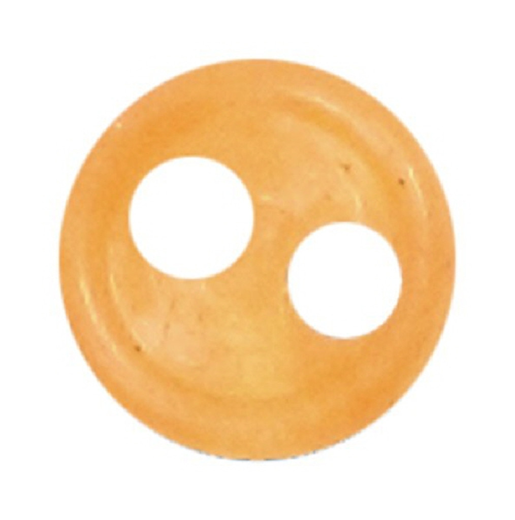 Azone AMP117-ORG Azone Original 4mm Phosphor Cup Button Orange