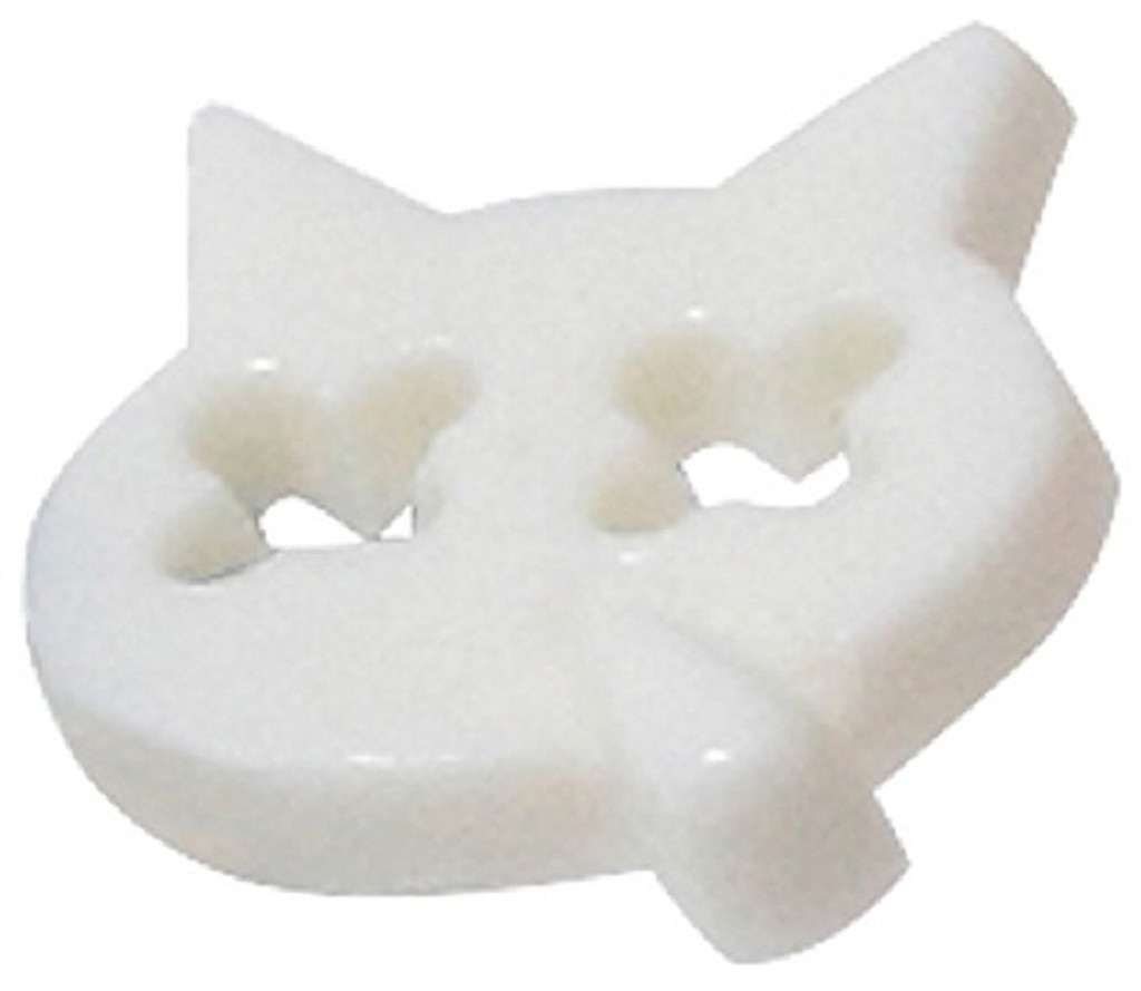 Azone AMP119-WHT Snottycat Hanatareneko Chan Button White