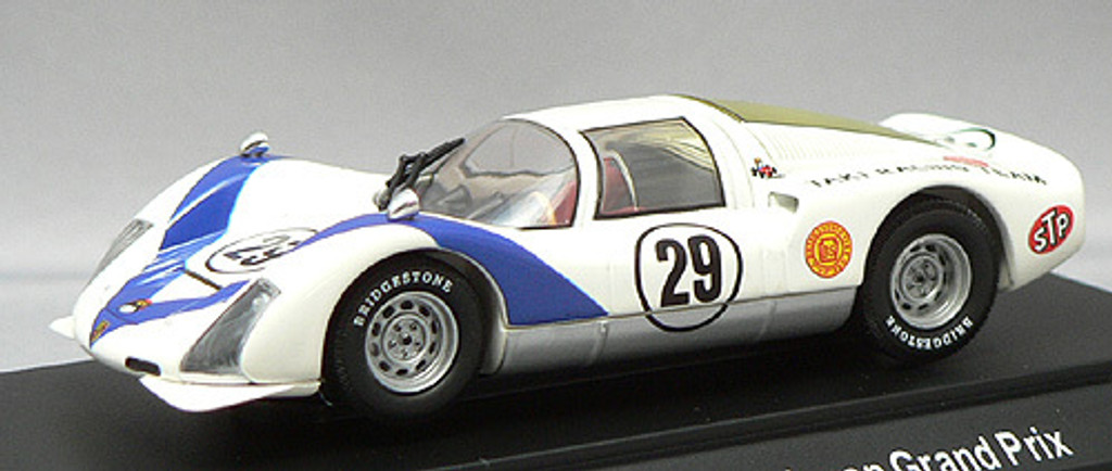 Ebbro 43636 Porsche 906 Japan GP 1968 (White) 1/43 Scale