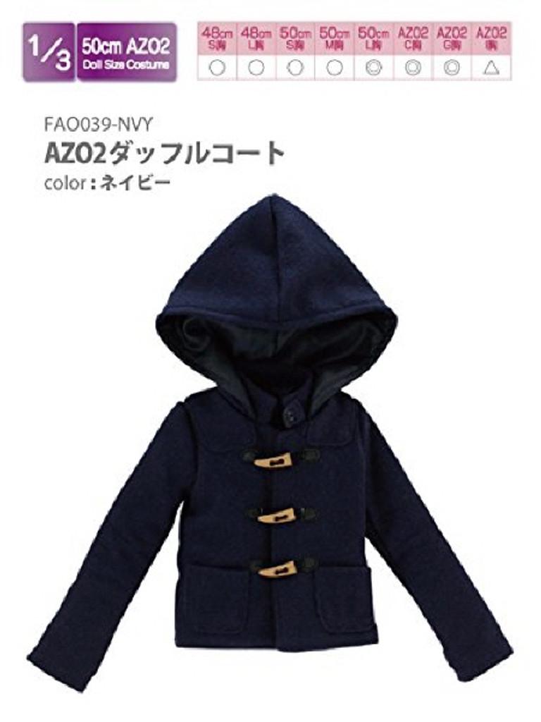 Azone FAO039-NVY Azo 2 Duffle Coat Navy