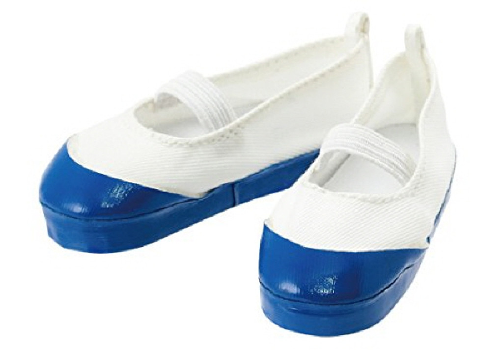 Azone FAR214-BLE for 50cm doll Shoes White x Blue