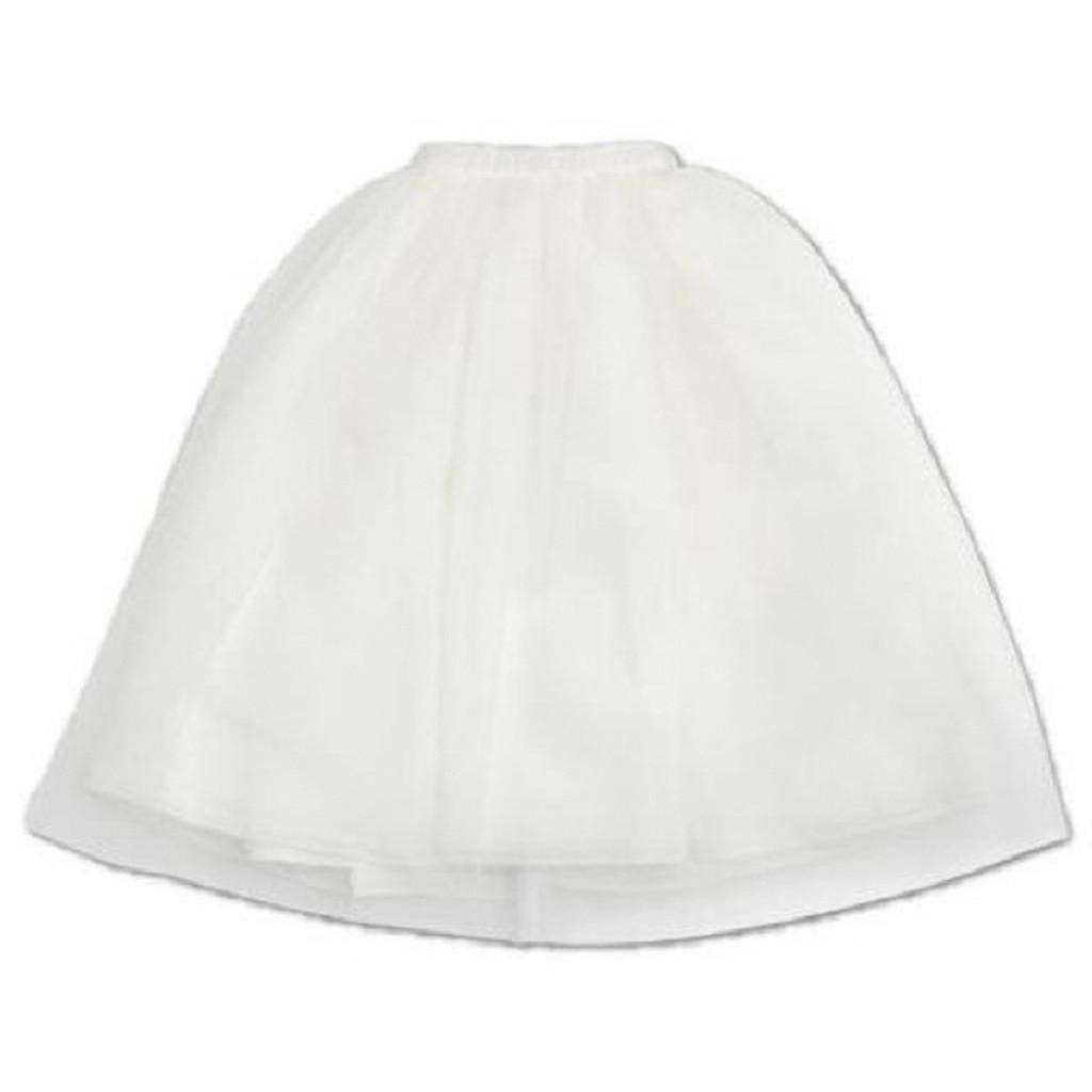 Azone FAR219-WHT for 50cm doll Tulle Skirt White