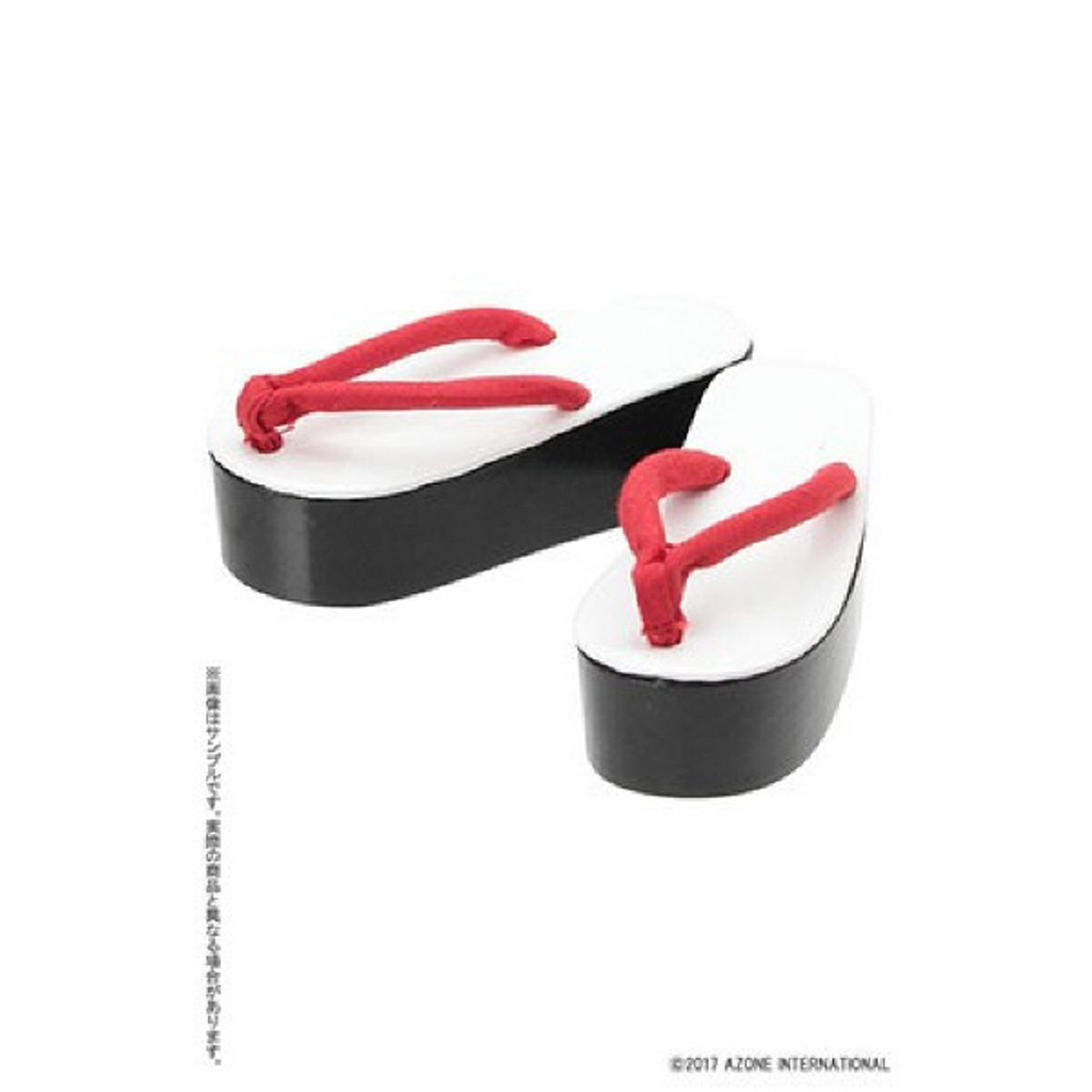 Azone FAR226-RED for 50cm doll Thick Floor Sandals Red