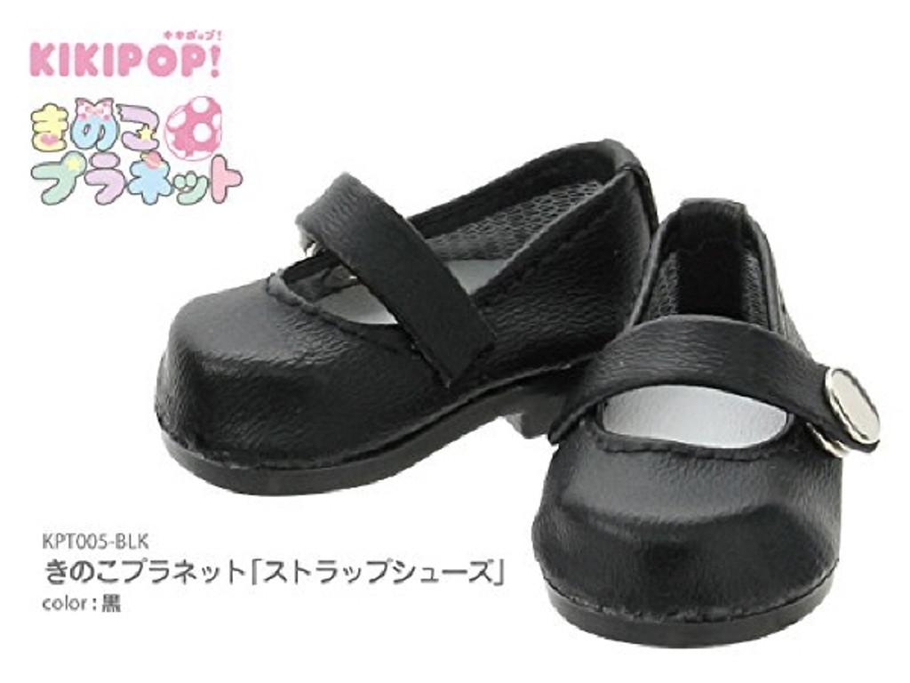 Azone KPT005-BLK Mushroom Planet 'Strap Shoes' Black