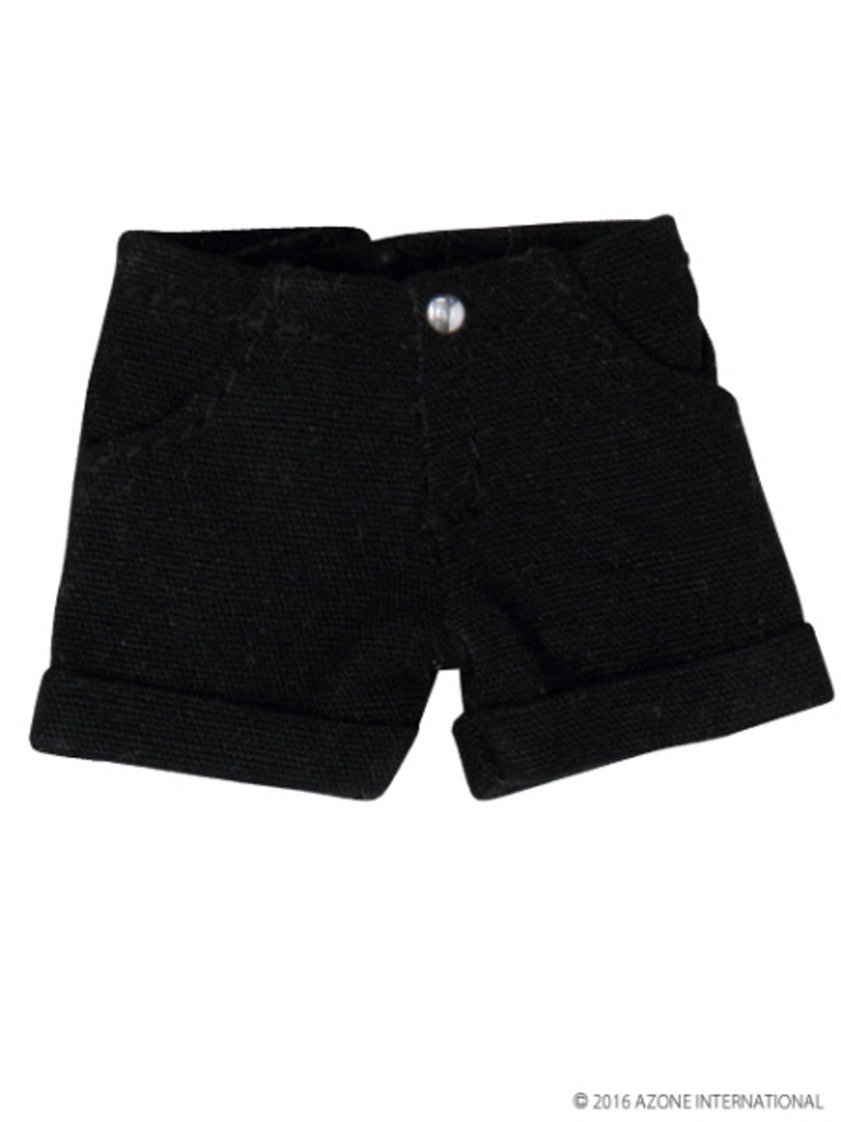 Azone PIC114-BLK 1/12 Roll Up Pants Black
