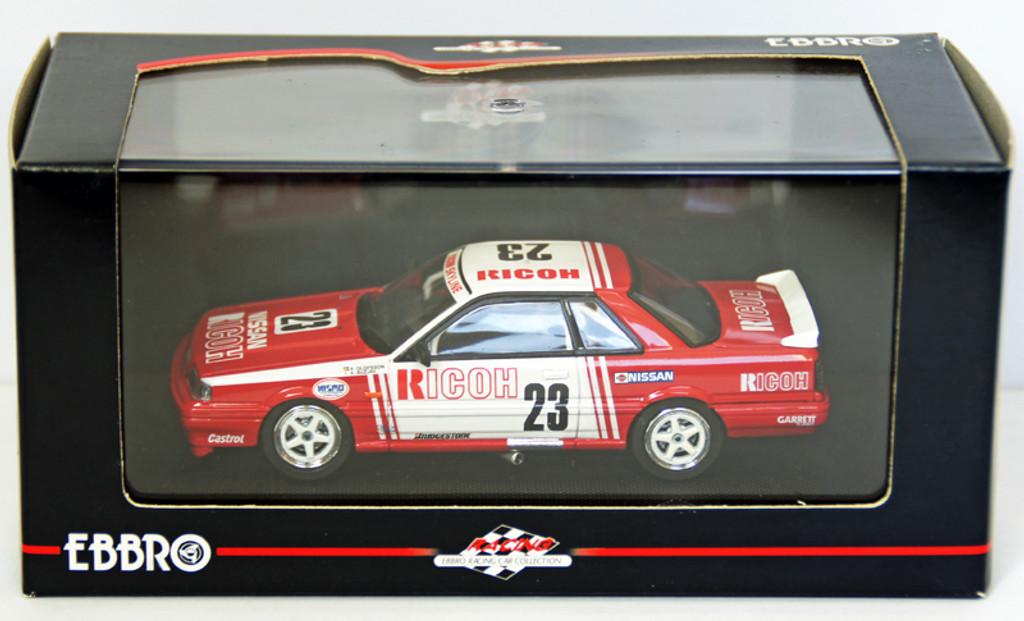 Ebbro 43671 Ricoh Skyline Gr.A 1988 (White/Red) 1/43 Scale