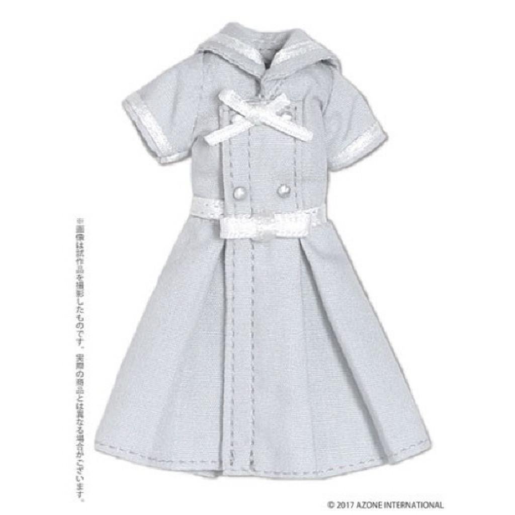 Azone PIC152-GRY 1/12 Ribbon Belt Sailor Dress Gray
