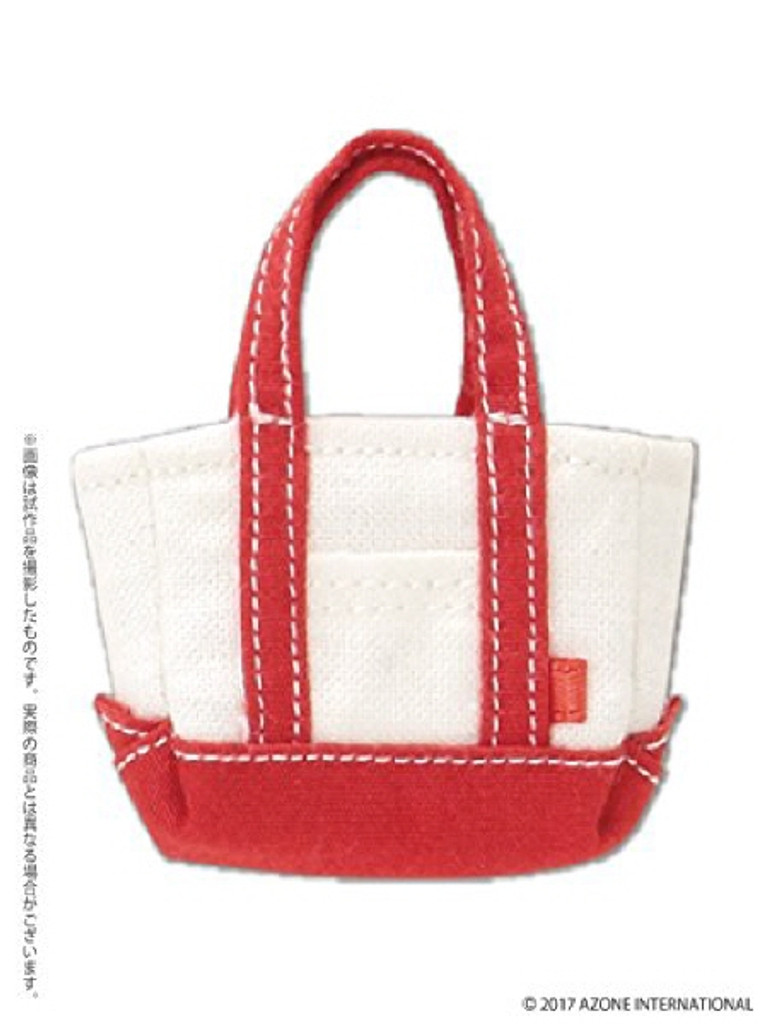 Azone PIC176-RED 1/12 Casual Tote Back Red