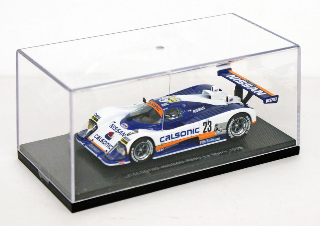 Ebbro 43680 Nissan Calsonic R88 Le Mans 1988 No.23 (White/Blue) 1/43 Scale