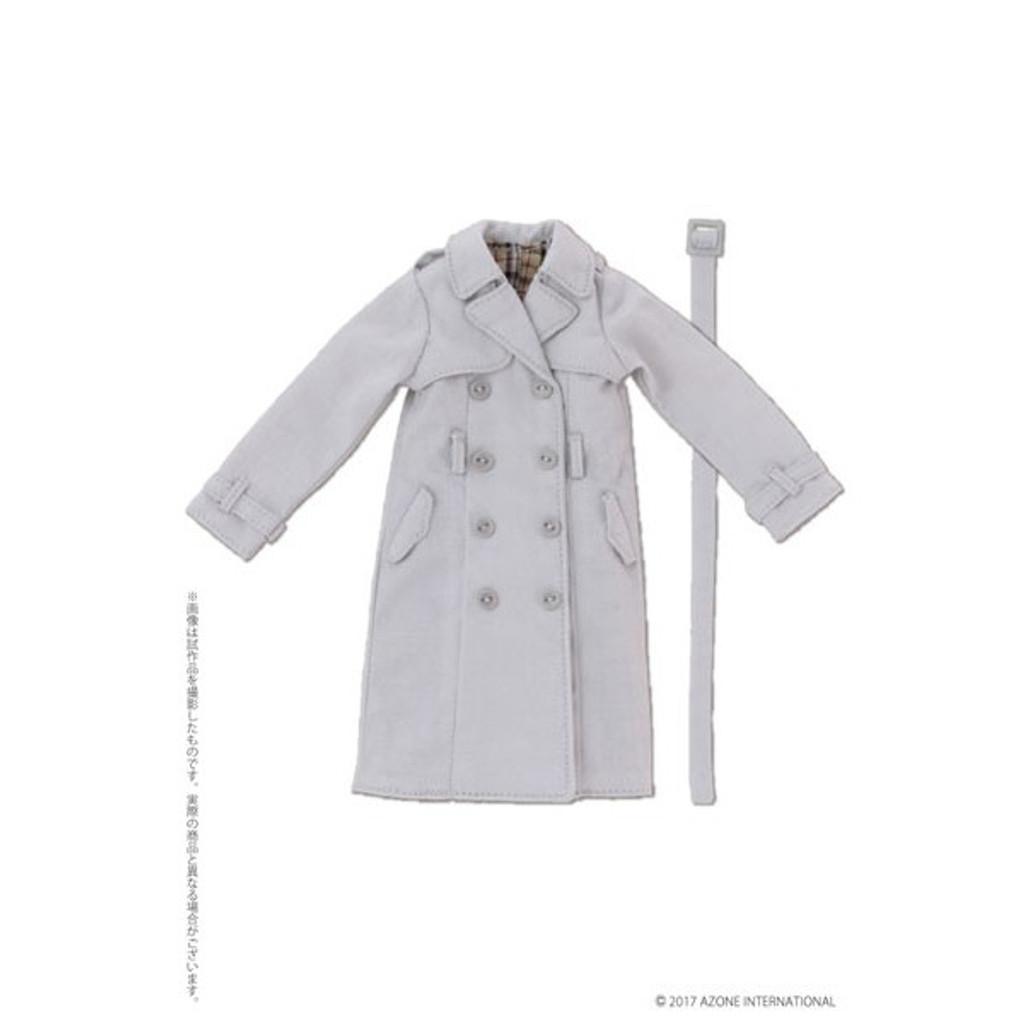 Azone PNM169-LGR PNM Trench Coat Light Gray