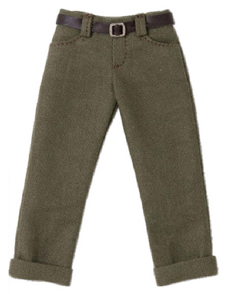 Azone POC436-KHK PNS Boys Low Rise Cropped Pants Khaki