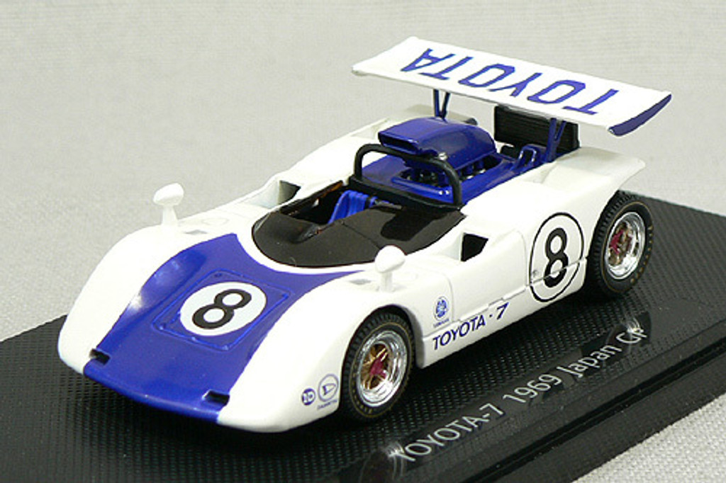 Ebbro 43713 Toyota 7 Japan Kangnam 1969 No.8 (Blue) 1/43 Scale