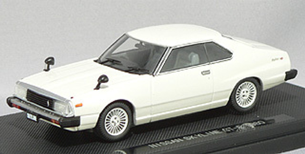 Ebbro 43758 NISSAN SKYLINE GT-EX 1980 White 1/43 Scale