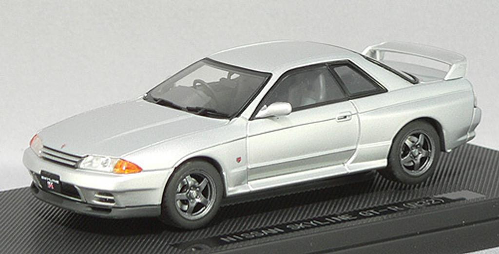 Ebbro 43761 NISSAN SKYLINE GT-R R32 Silver 1/43 Scale
