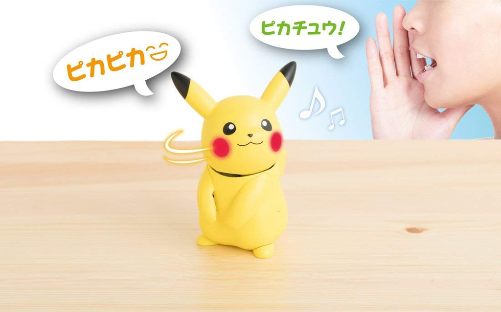Takara Tomy Pokemon Hey Hello Pika Pikachu Talking Toy