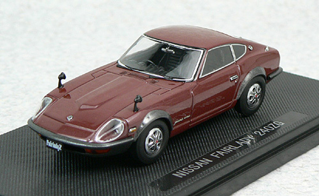 Ebbro 44004 NISSAN FAIRLADY 240ZG Brown 1/43 Scale Scale