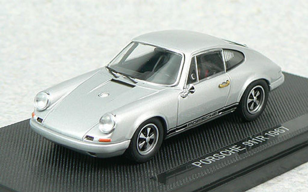Ebbro 44011 PORSCHE 911R 1967 Silver 1/43 Scale