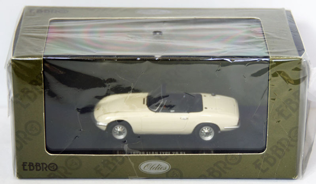 Ebbro 44162 Lotus Elan Type 26 S1 (White) 1/43 Scale