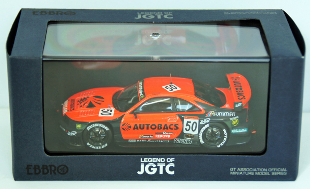 Ebbro 44195 Arata Skyline Jgtc 1998 (Orange/Black) 1/43 Scale