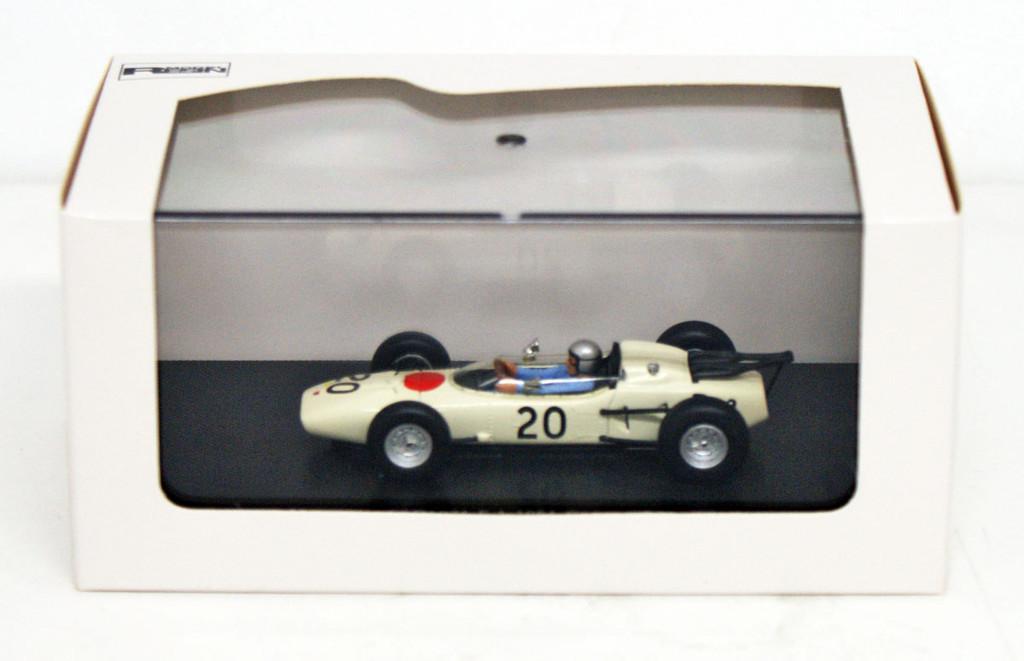 Ebbro 44256 Honda RA271 1964 German GP No.20 (White) 1/43 Scale