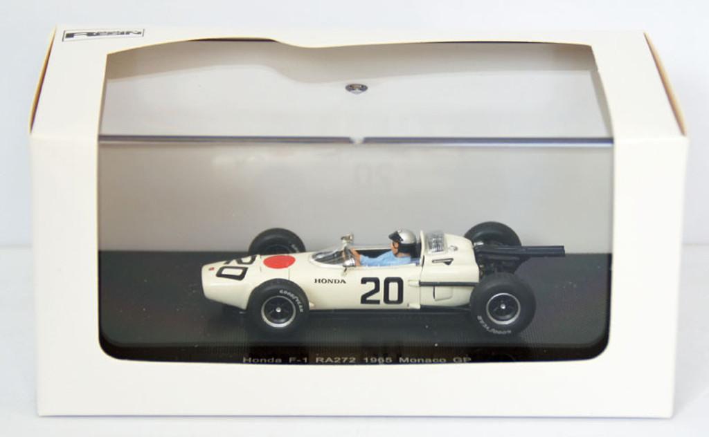Ebbro 44258 Honda RA272 1965 Monaco GP No.20 1/43 Scale