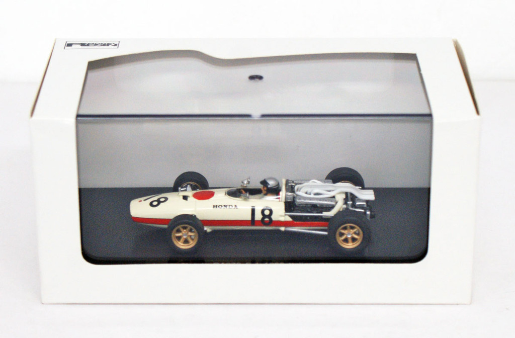 Ebbro 44261 Honda RA273 1966 Italian GP No.18 (White) 1/43 Scale