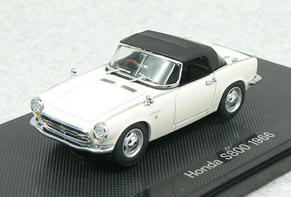 Ebbro 44267 Honda S800 1966 White 1/43 Scale