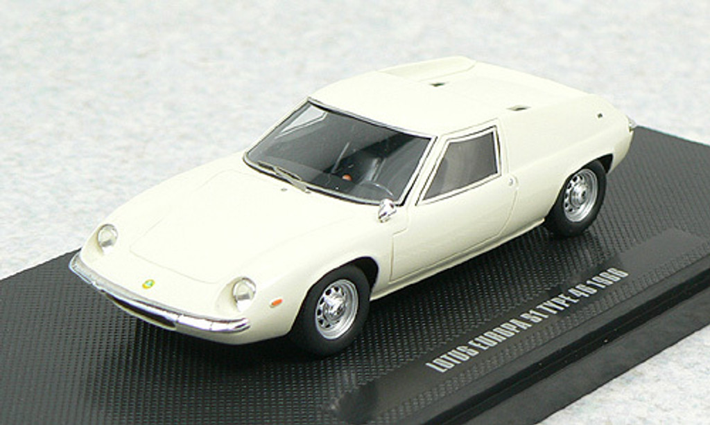 Ebbro 44278 Lotus Europa S1 1966 (White) 1/43 Scale