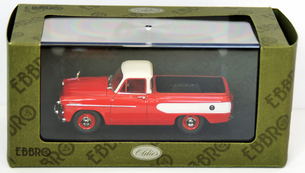 Ebbro 44344 Toyopet Masterline Pick Up 1959 (Red) 1/43 Scale