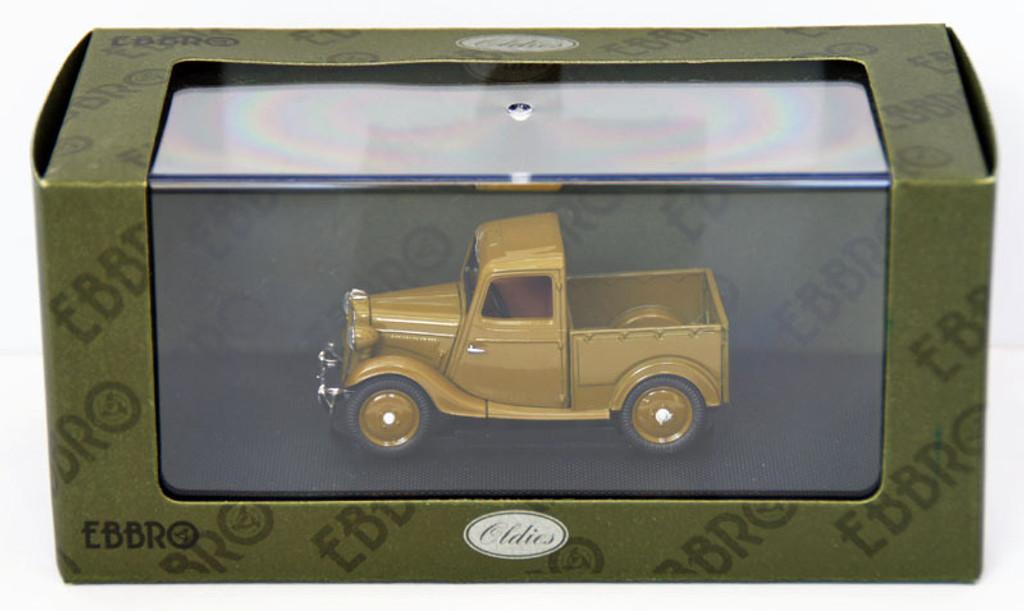 Ebbro 44349 Datsun 17 Truck 1937 (Brown) 1/43 Scale