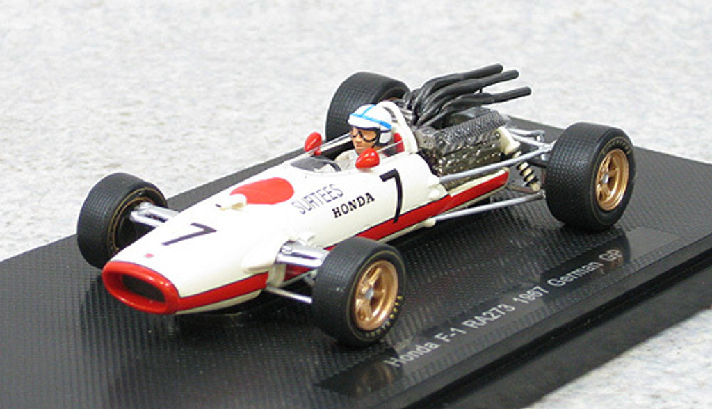 Ebbro 44387 Honda RA273 1967 German GP No.7 (White) 1/43 Scale