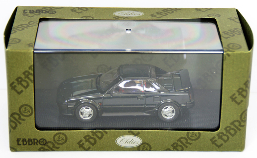 Ebbro 44405 Toyota MR-2 1984 (Dark Green) 1/43 Scale