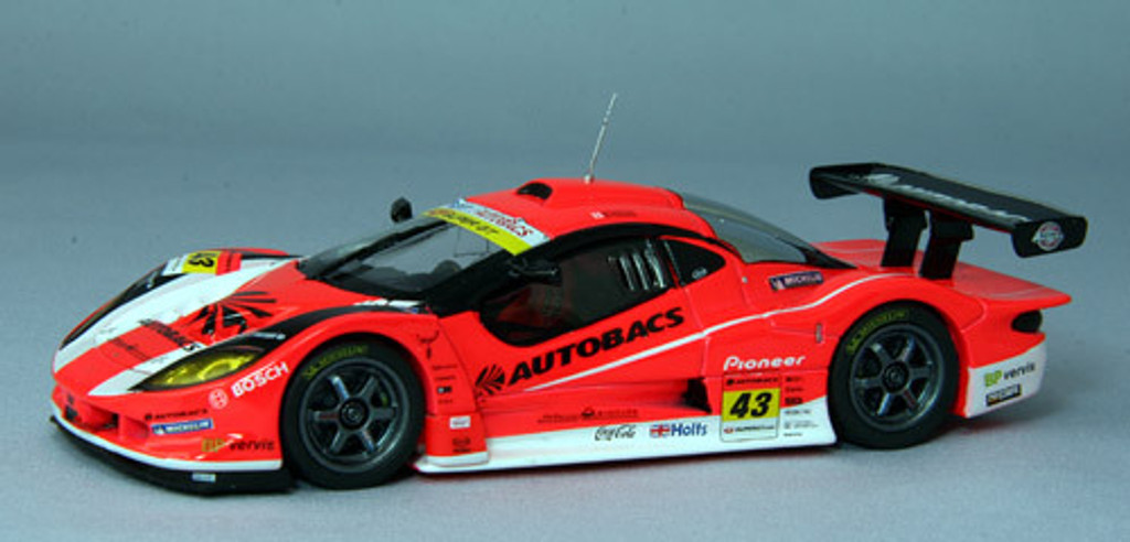 Ebbro 44422 ARTA Garaiya Super GT300 2010 No.43 (Orange) 1/43 Scale