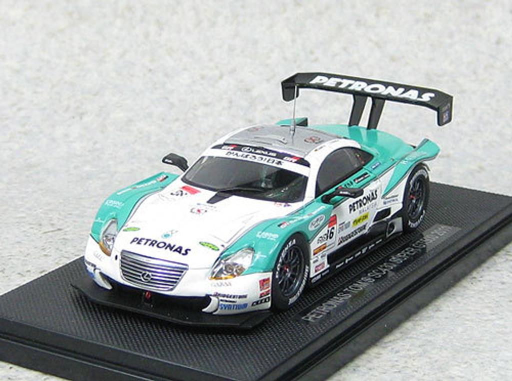 Ebbro 44553 PETRONAS TOM'S SC430 Super GT500 2011 No.36 (White/Green) 1/43Scale