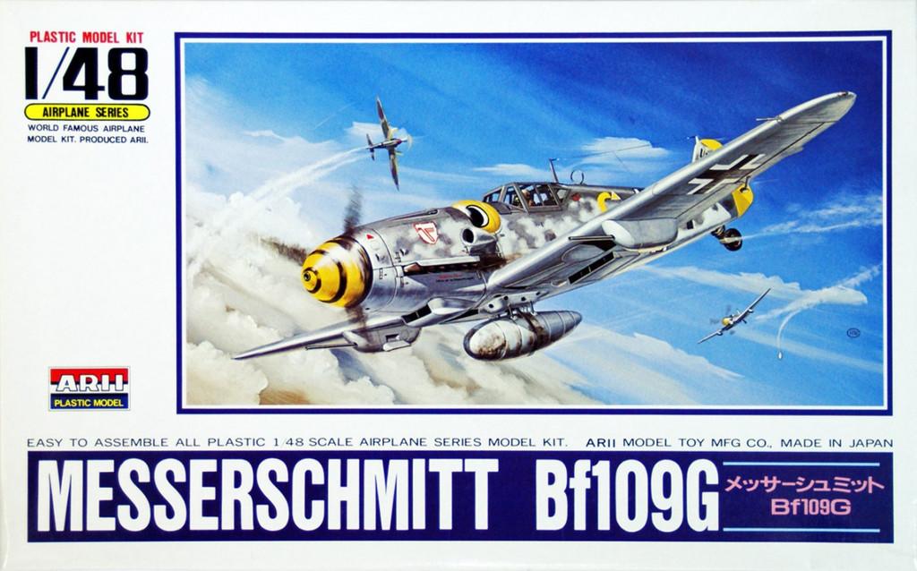 Arii 304136 Messerschmitt Bf109G 1/48 Scale Kit (Microace)