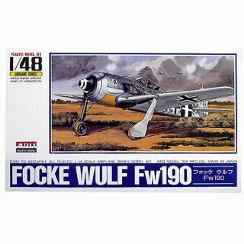 Arii 304143 Focke Wulf Fw190 1/48 Scale Kit (Microace)