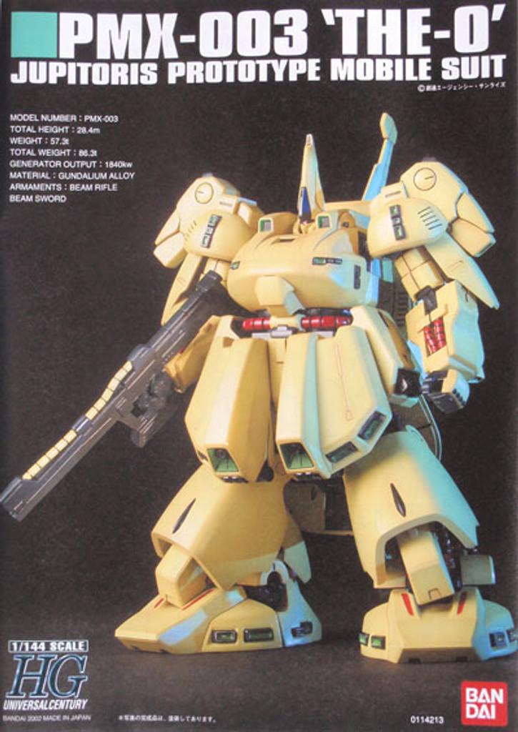 Bandai HGUC 036 Gundam PMX-003 THE-O 1/144 Scale Kit