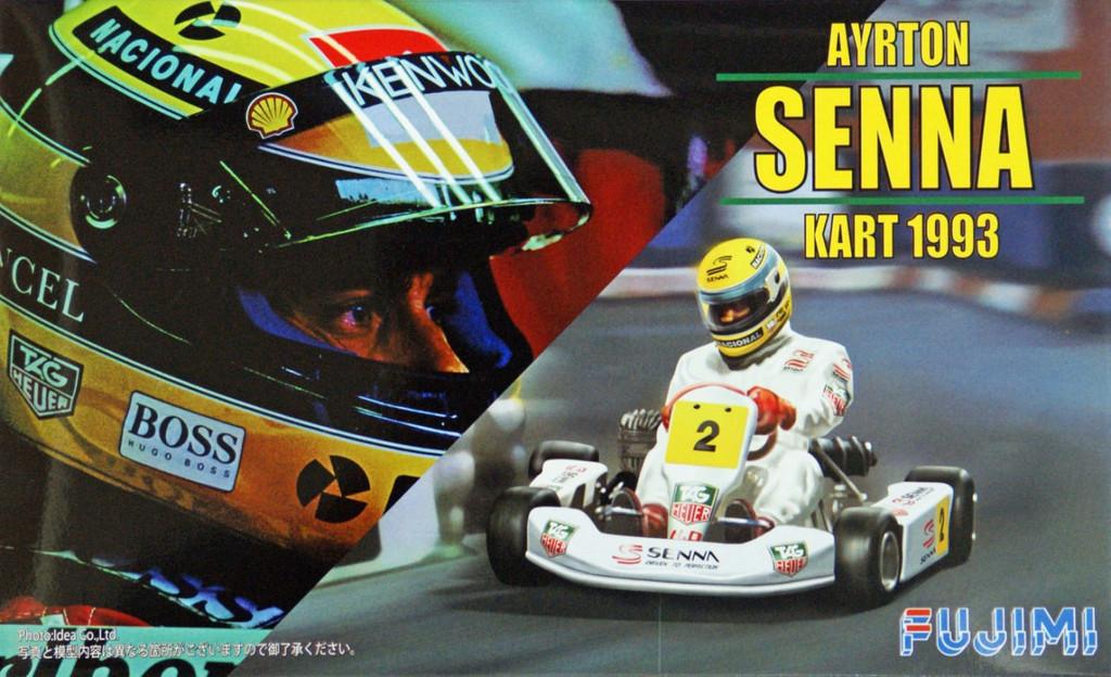 Fujimi KART-2 Ayrton Senna Kart 1993 1/20 Scale Kit