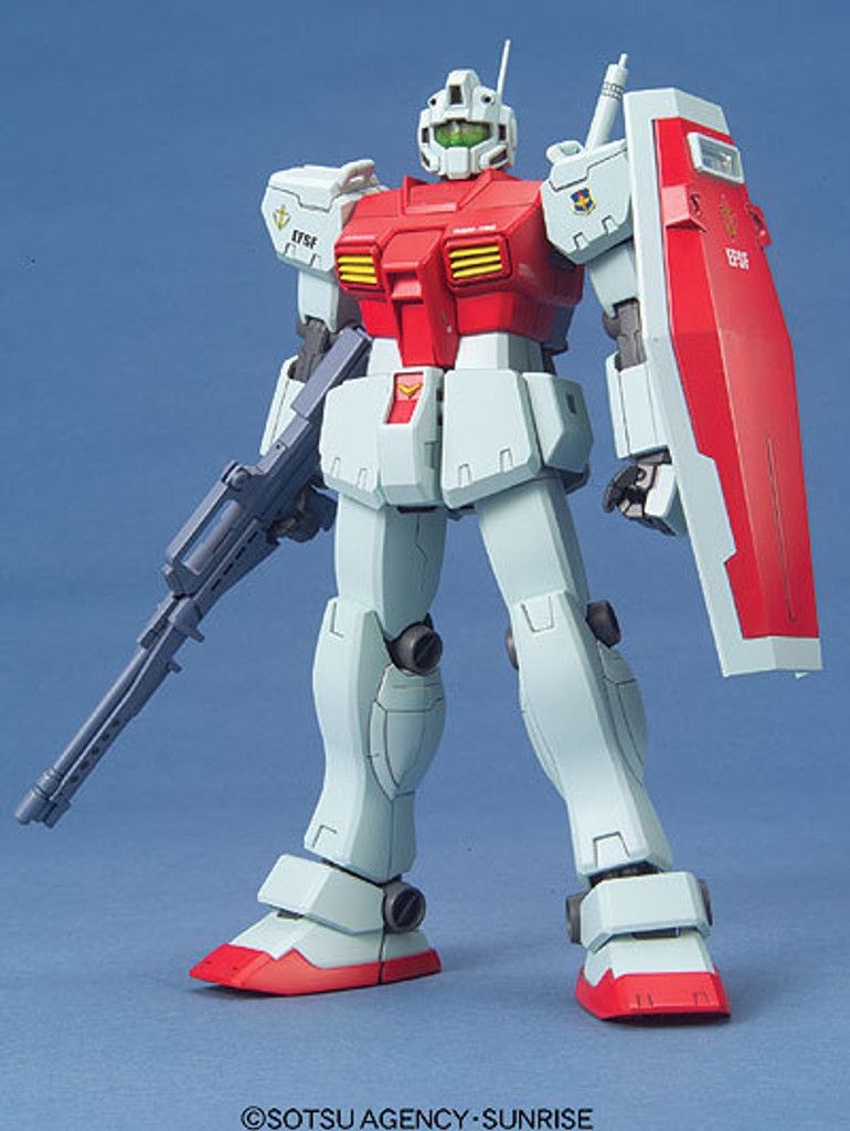 Bandai MG 142146 Gundam RGM-79C GM Kai (Standard Color) 1/100 Scale Kit