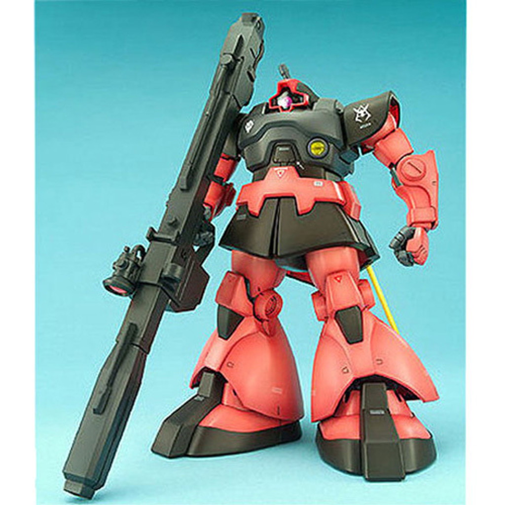 Bandai MG 164025 Gundam Rick Dom Char Aznable's 1/100 Scale Kit