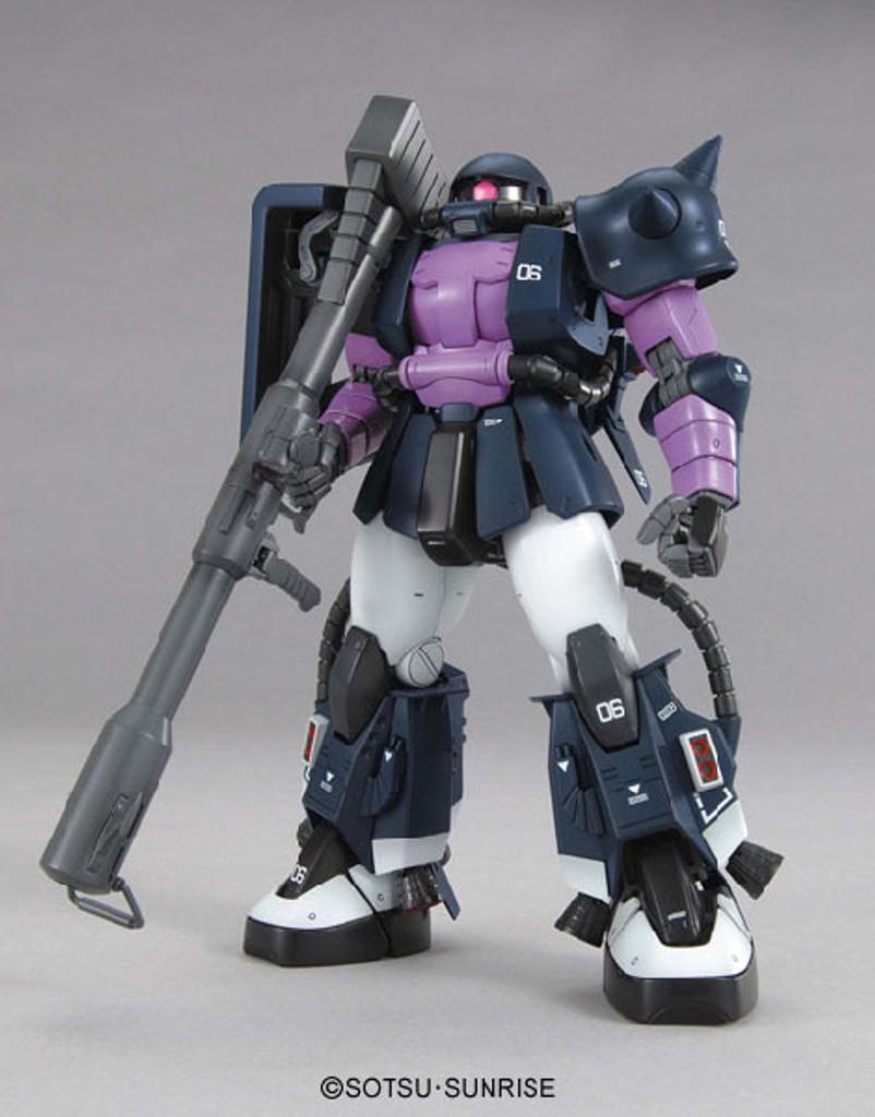 Bandai MG 523730 Gundam MS-06R Zaku II Black Tri-Stars Version2.0 1/100 Scale Kit