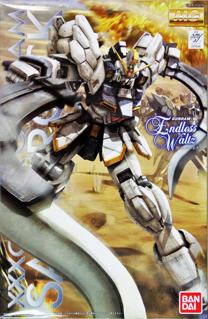 Bandai MG 715364 Gundam XXXG-01SR Sandrock (Endless Waltz) 1/100 Scale Kit