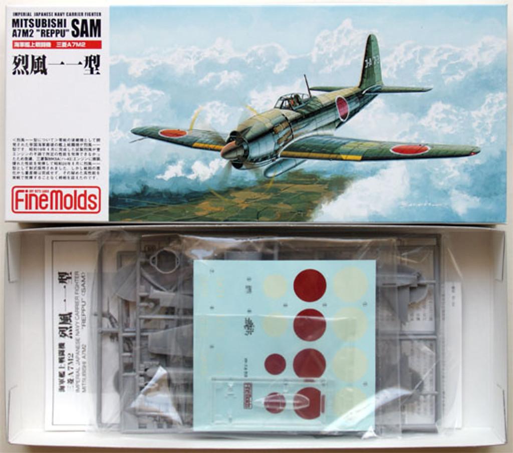 Fine Molds FP18 IJN MITSUBISHI A7M2 REPPU SAM 1/72 Scale Kit