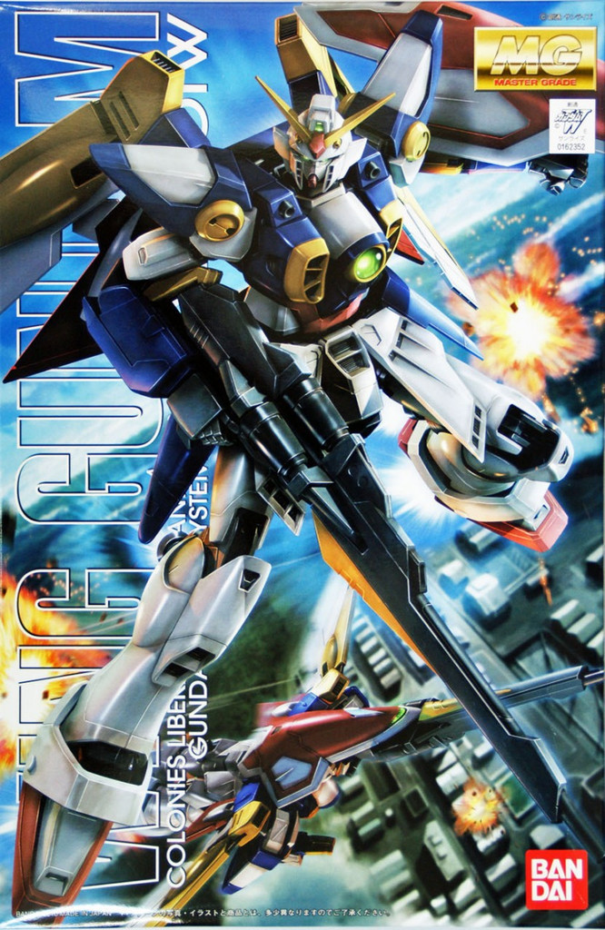 Bandai MG 623522 Gundam Wing Gundam 1/100 Scale Kit